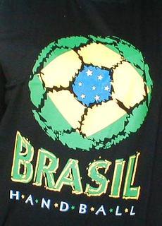 Camiseta de Handebol Preta